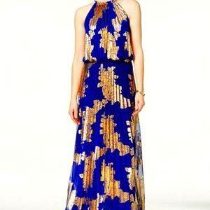 MSK Maxi Evening Gown